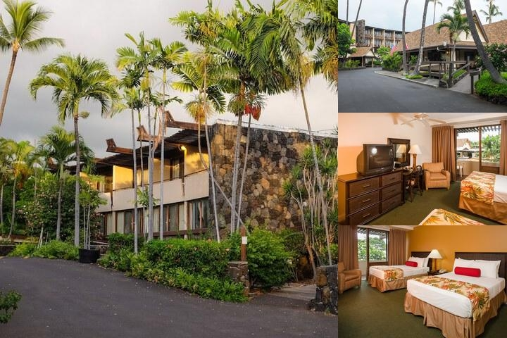 Uncle Billy's Kona Bay Hotel photo collage
