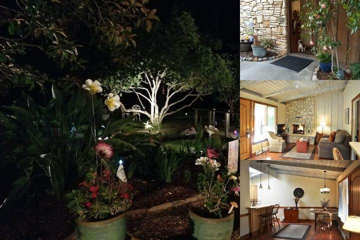 Carmel Valley Lodge photo collage
