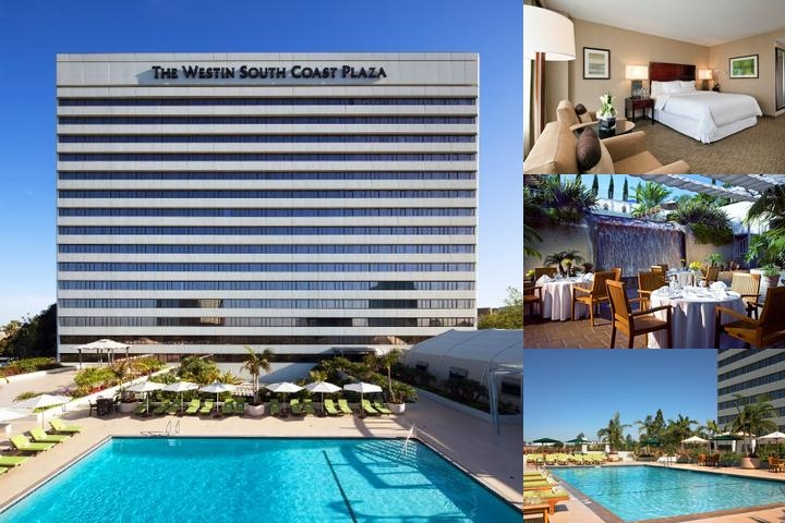 Westin South Coast Plaza photo collage