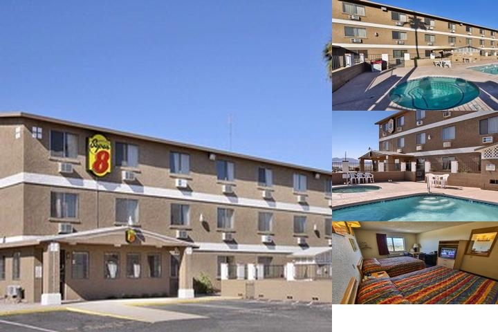Super 8 Lake Havasu photo collage