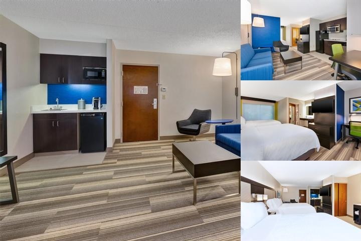 Comfort Suites University photo collage