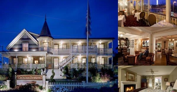 Crowne Pointe Historic Inn & Spa photo collage