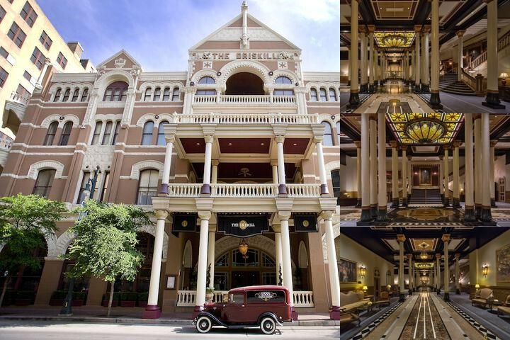 The Driskill Hotel photo collage