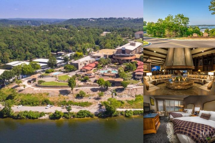 The Lodge of Four Seasons photo collage