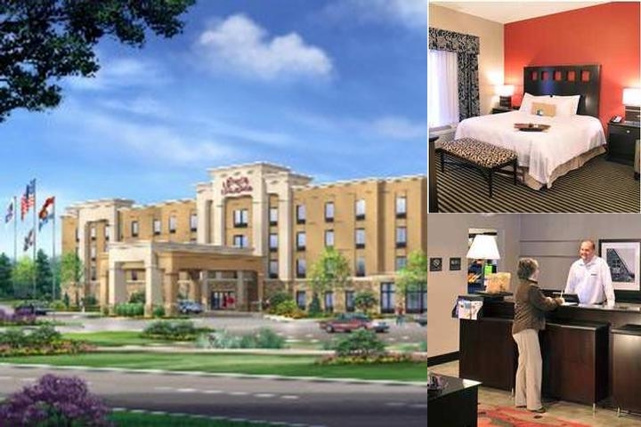 Hampton Inn & Suites St. Louis South I 55 photo collage