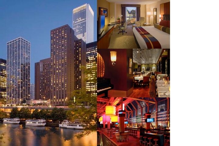 Hyatt Regency Chicago photo collage
