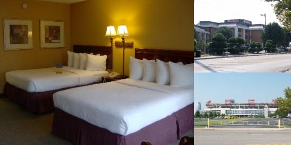 Quality Inn Nashville Downtown Stadium photo collage