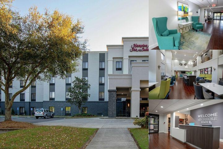 Hampton Inn & Suites Lafayette photo collage
