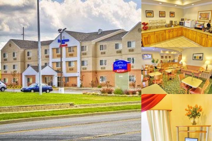 Fairfield Inn Springfield photo collage