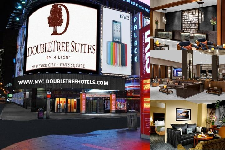 Doubletree Guest Suites Times Square photo collage