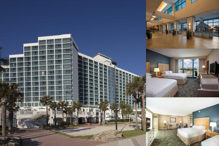 Hilton Daytona Beach Oceanfront Resort photo collage
