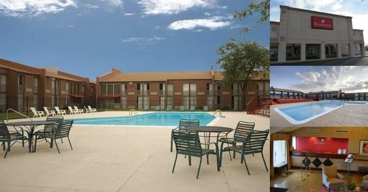 Ramada Wichita Airport photo collage