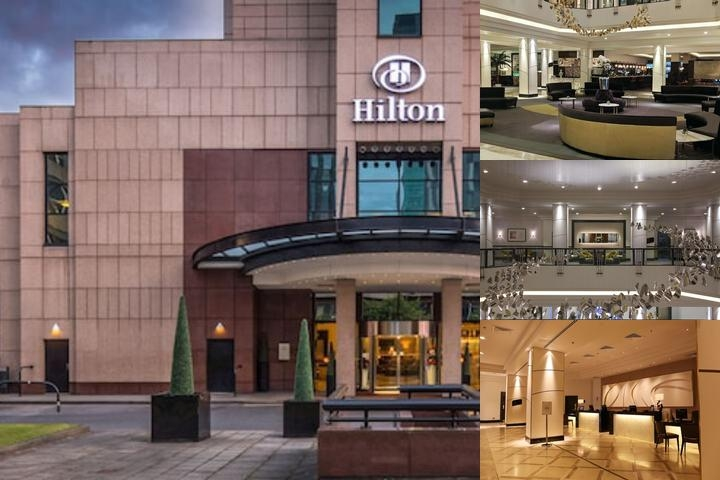 Hilton Glasgow photo collage