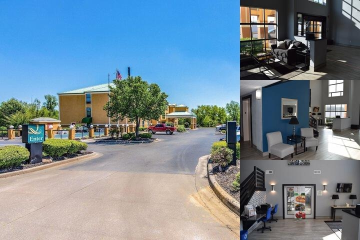 Quality Suites Maumelle photo collage