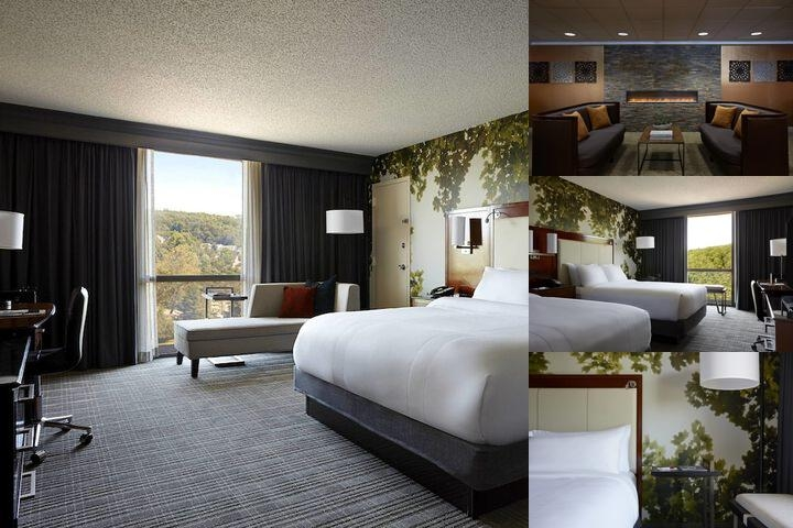 Westchester Marriott Hotel photo collage
