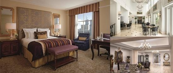 The Ritz Carlton New Orleans photo collage