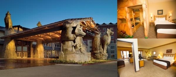 Great Wolf Lodge Grand Mound photo collage