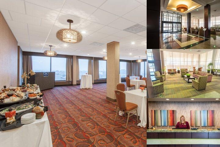 Crowne Plaza Dayton photo collage