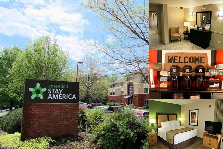 Extended Stay Deluxe Atlanta Perimeter photo collage