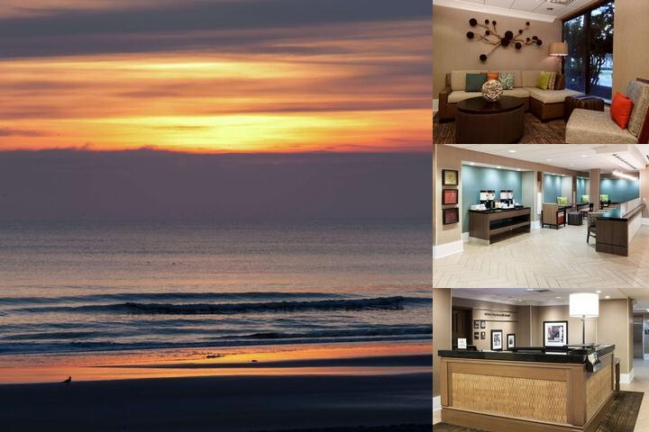 Hampton Inn Oceanfront Jax Beach photo collage