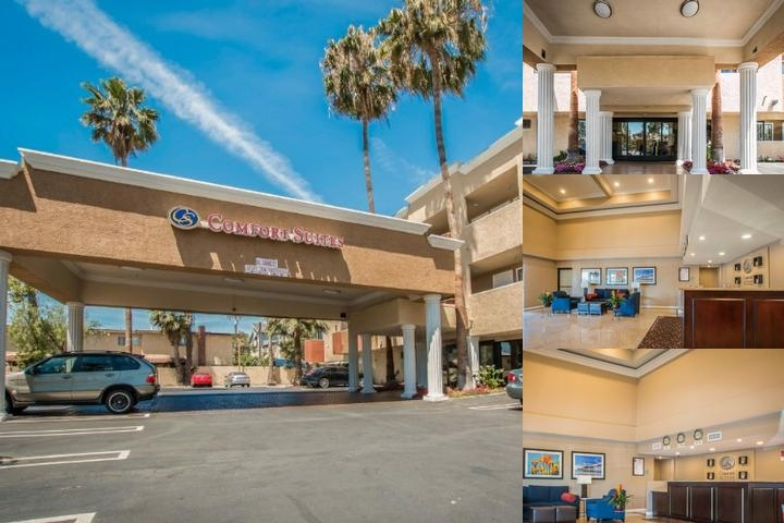 Comfort Suites Huntington Beach photo collage