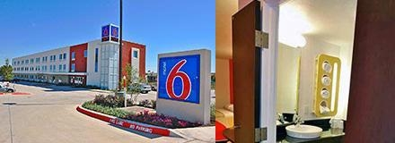 Motel 6 Ft. Worth Northlake Speedway photo collage
