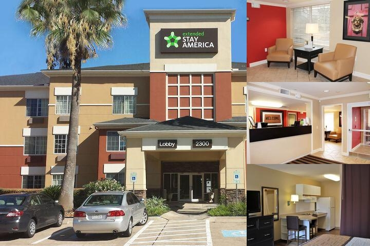 Extended Stay America Houston Galleria Uptown photo collage
