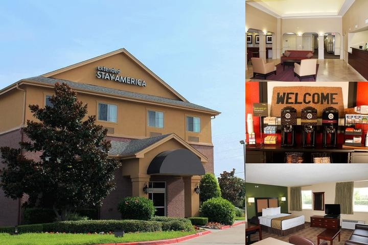Extended Stay Deluxe Houston Sugarland photo collage