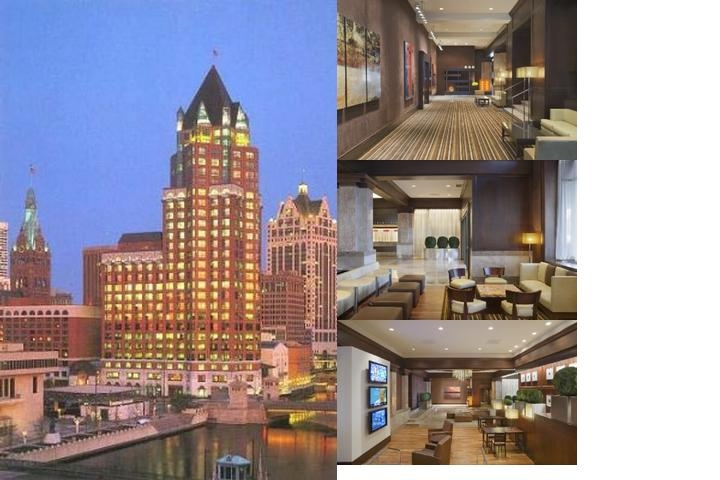 Intercontinental Milwaukee photo collage