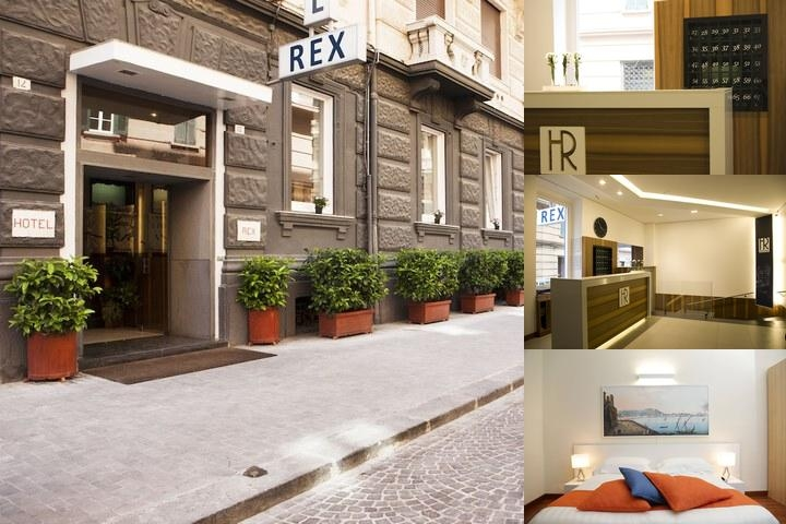 Hotel Rex photo collage