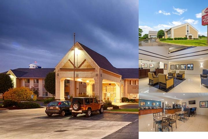 Best Western Plus Gas City photo collage