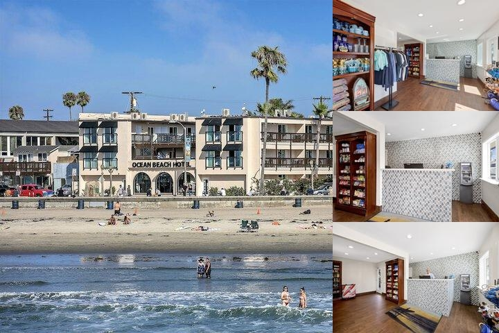 Ocean Beach Hotel photo collage