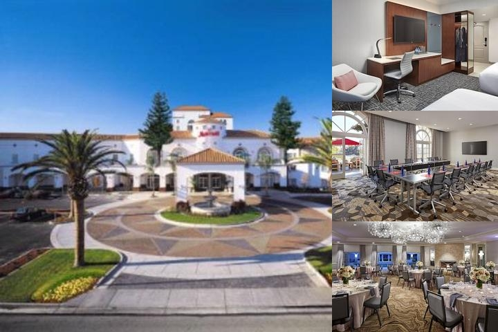 San Mateo Marriott photo collage