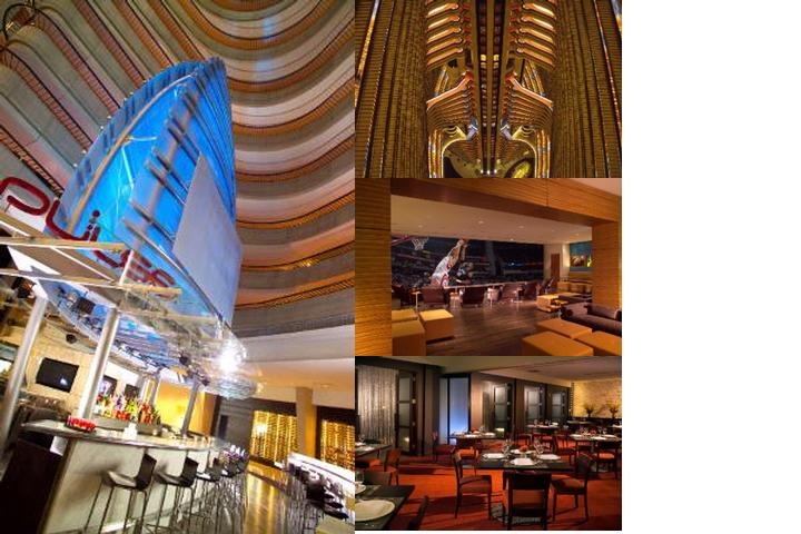 Atlanta Marriott Marquis photo collage