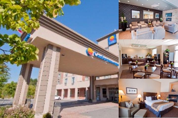 Comfort Inn & Suites Surrey photo collage