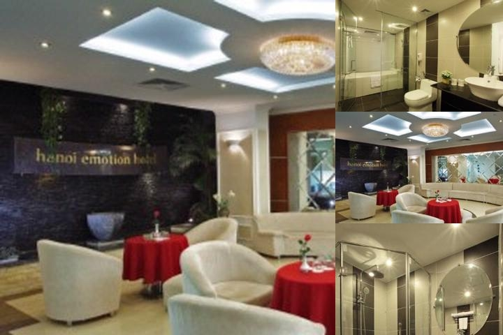 Hanoi Emotion Hotel photo collage