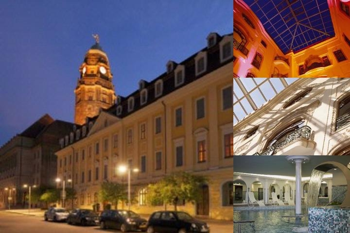 Radisson Blu Gewandhaus Hotel photo collage