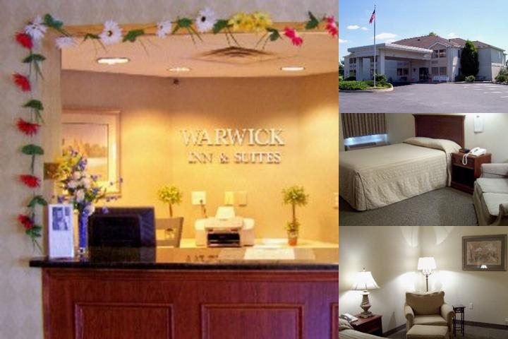 Warwick Inn & Suites photo collage