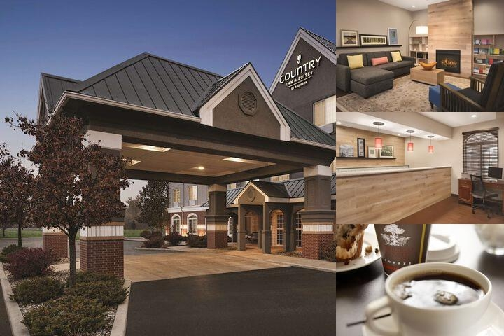 Country Inn & Suites by Carlson Michigan City In photo collage