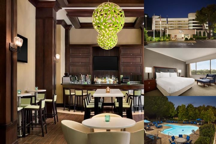 Hilton Charlotte Executive Park photo collage