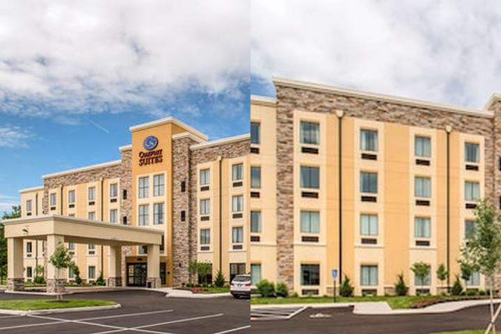 Comfort Suites Columbus Airport photo collage