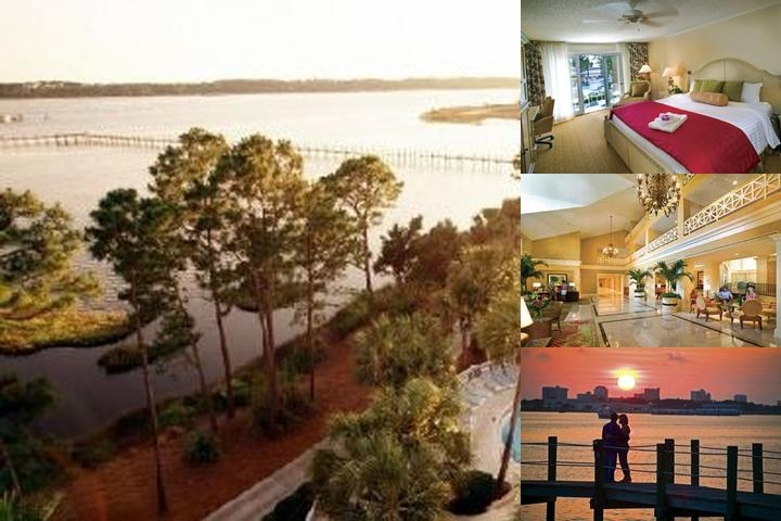 Bay Point Marriott Resort photo collage