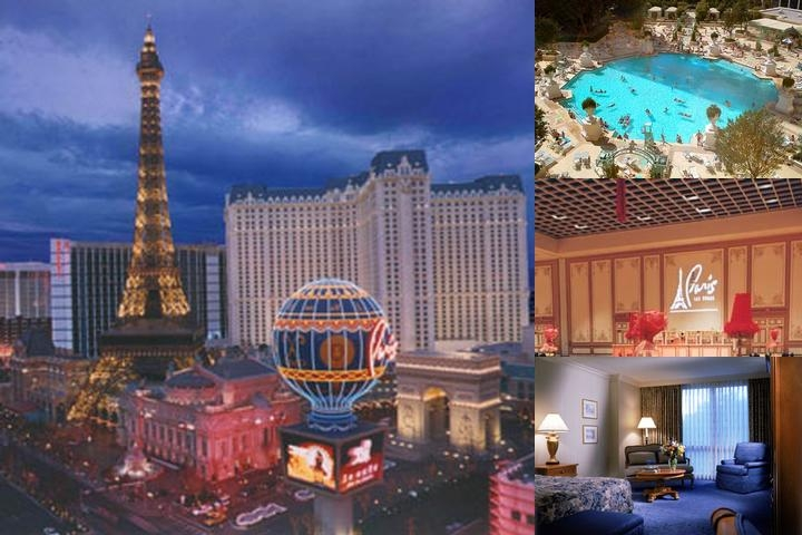 Paris Las Vegas photo collage