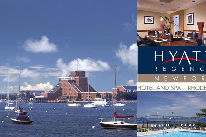 Hyatt Regency Newport Hotel & Spa photo collage