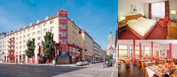 Tryp München City Center Hotel photo collage
