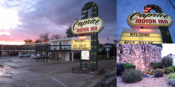 Caprice Motor Inn photo collage