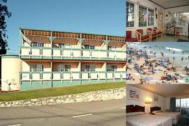 Howard Johnson Inn Santa Cruz Fisherman's Wharf photo collage