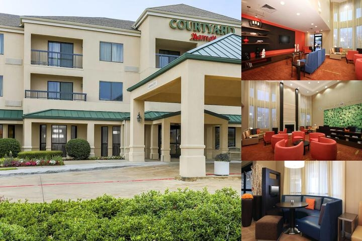 Courtyard Dallas Lewisville photo collage