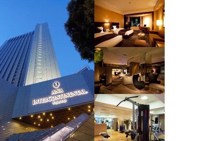 Ana Intercontinental Tokyo photo collage