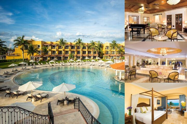 Secrets Capri Riviera Cancun All Inclusive photo collage